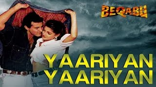 Yaariyan Yaariyan | Beqabu | Sanjay Kapoor & Mamta Kulkarni | Udit Narayan & Alka Yagnik | 90's Hits