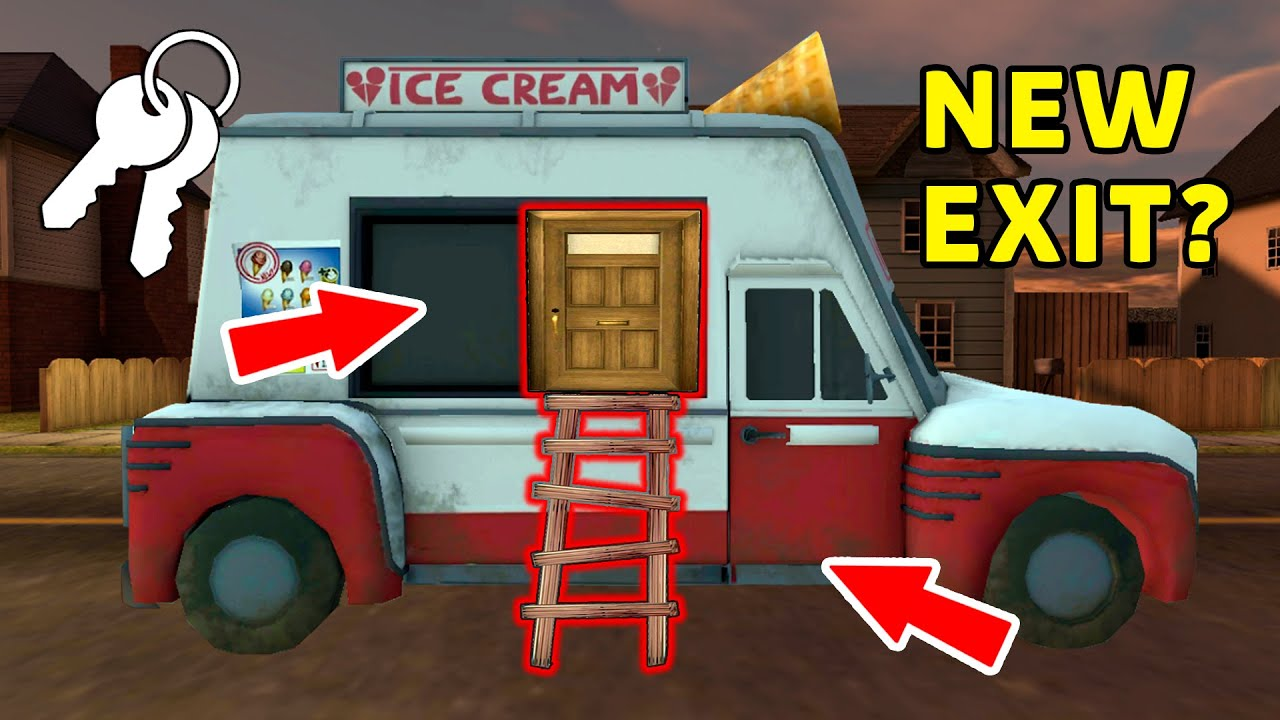 New Secret *Ice Scream* and *Funny Horror* (Collection of the best episodes Ice Scream p.184)