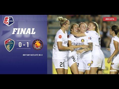 Highlights: North Carolina Courage vs. Utah Royals FC   June 16, 2018