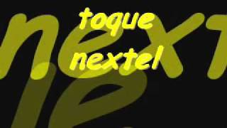 toque nextel (original)