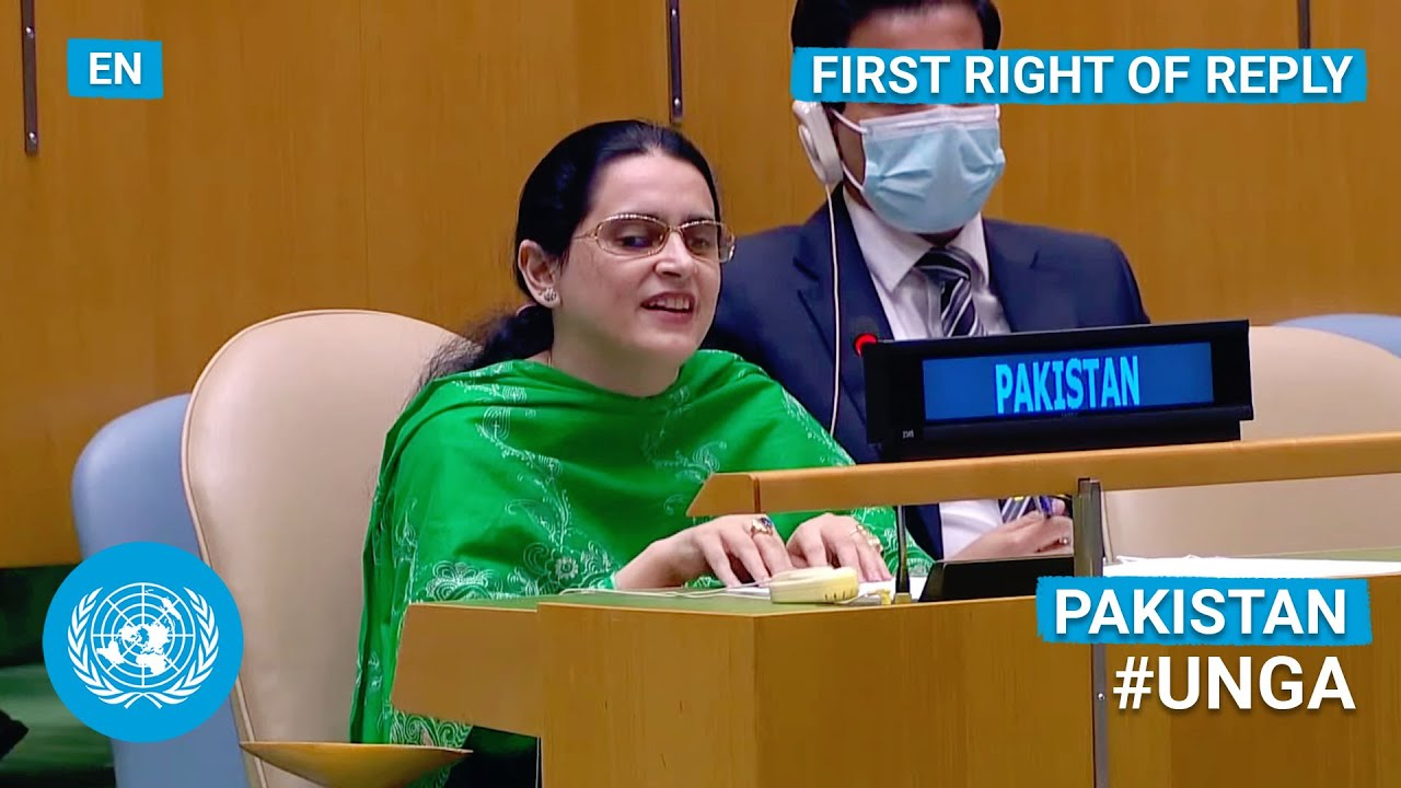 Download 🇵🇰 Pakistan - First Right of Reply, United Nations General Debate, 76th Session   #UNGA
