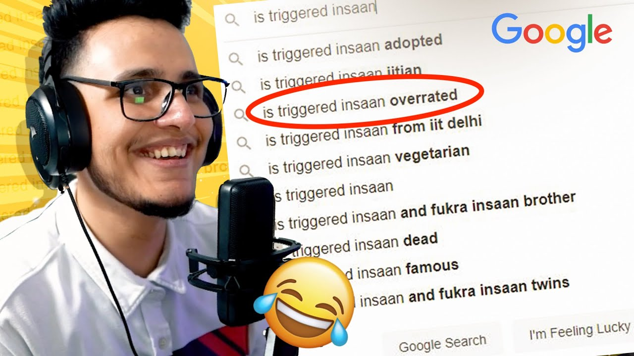Funniest Things People Actually GOOGLE About Me😂 (Roasting Myself)