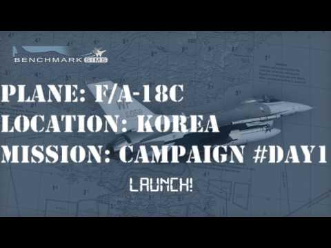 [Falcon BMS 4.33] F/A-18C - Korea Campaign Day 1