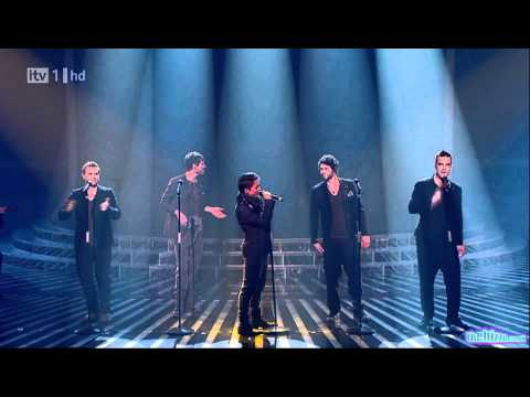 "Take That ""The Flood"" X Factor 2010 (Full Version) Live Results Show 6 HD 1920 1080"