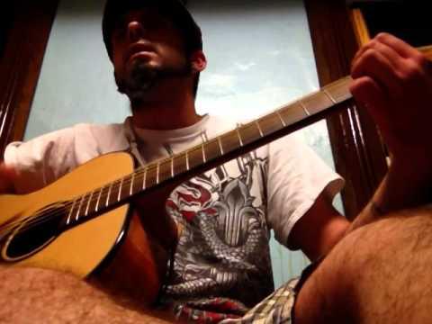 Nirvana-Where Did You Sleep Last Night-Acoustic Cover