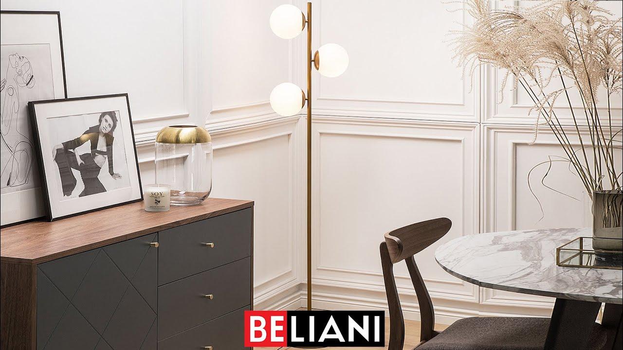 Stehlampe Gold 153 Cm Wadi Beliani Ch