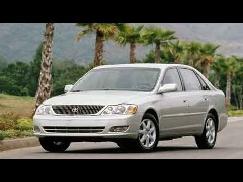 2002 Toyota Avalon Start Up and Review 3.0 L V6