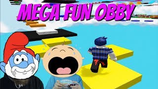 THE MEGA FUN OBBY CHALLENGE !!! [ ROBLOX GAMEPLAY ]