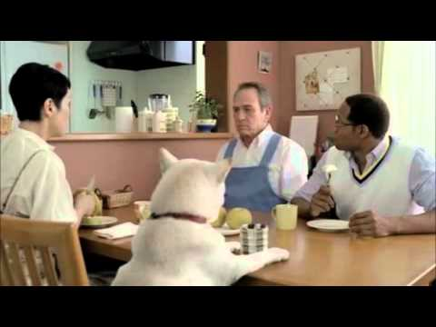 Tommy Lee Jones in Boss-SoftBank crossover commercials part2 白戸家「家政夫登場」 [ENG]