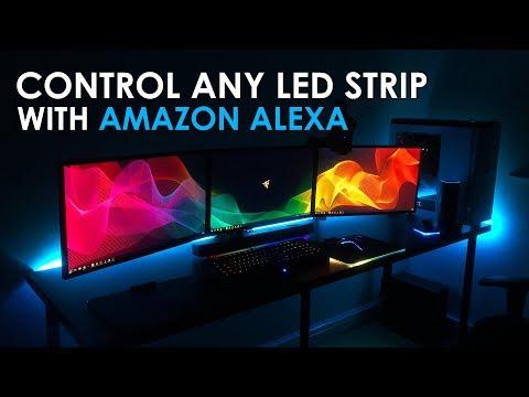 Control Any LED Light Strip With Amazon Alexa (Amazon Echo, Echo Dot & Echo Plus)
