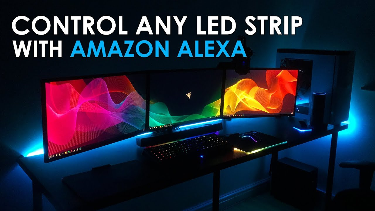Control Any Led Light Strip With Amazon Alexa Amazon Echo