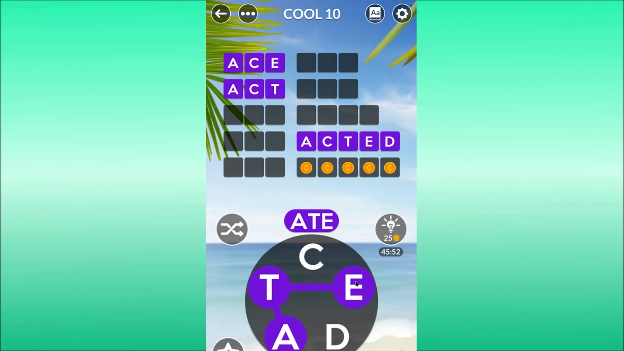 Wordscapes Uncrossed Cool 10 Youtube