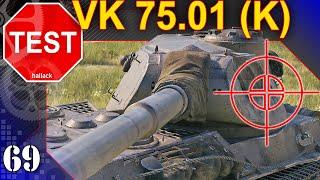 VK 75.01 (K) - jak twardy jest ten czołg? TEST - World of Tanks