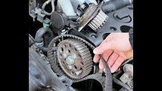 Comment remplacer une courroie distribution moteur PSA Peugeot/Citroën 1.4 HDI