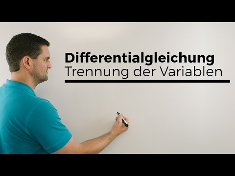 Differentialgleichung, Trennung der Variablen, Analysis   Mathe by Daniel Jung from YouTube · Duration:  5 minutes 5 seconds