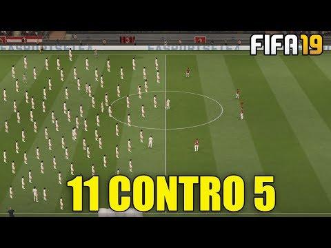 5 CONTRO 11! ABBIAMO VINTO LA PARTITA IMPOSSIBILE?! | FIFA 19 PARTITA 5 CONTRO 11!