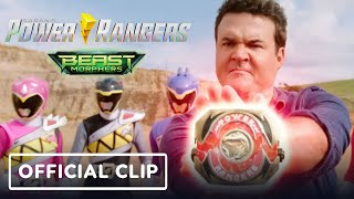 Power Rangers Beast Morphers - Official Clip (Austin St. John, Red MMPR Ranger)