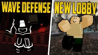 Roblox: *NEW* UPDATE! WAVE DEFENSE MODE NEW LOBBY, NEW TITLE | Dungeon Quest