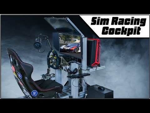 How to Build Sim Racing Cockpit. DIY.