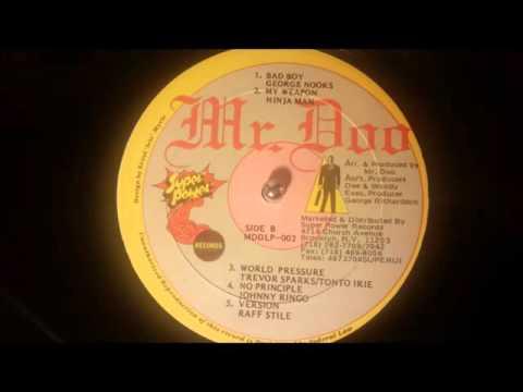Ninja Man - My Weapon w/ Version - Mr Doo LP/Various Artists 1990