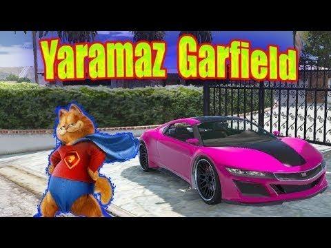 Garfield Arkadaşları Örümcek Bebek Ve Sincap'tan Ayrı Gezmeye Çıkar- Garfied Araba Kaçırma Macerası