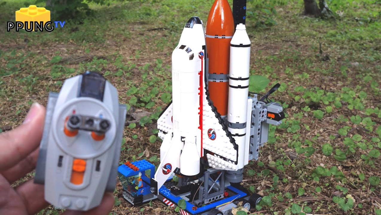 lego city space shuttle launch - photo #3