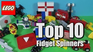 Top 10 LEGO Fidget Spinners - LEGO Fidget Spinner Time Check