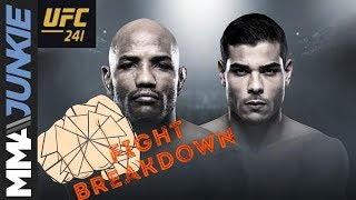 UFC 241 fight breakdown: Yoel Romero vs. Paulo Costa