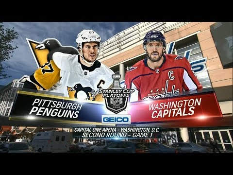 2018 Stanley Cup Playoffs, Eastern Conference: 2nd Round, Game 1 - Penguins @ Capitals (4/26/2018)