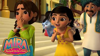 🧐 Mystery at the Puppet Show | Mira, Royal Detective | Disney Junior UK