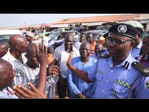 BBC NEWS Coverage of Nigeria Police Complaint Unit