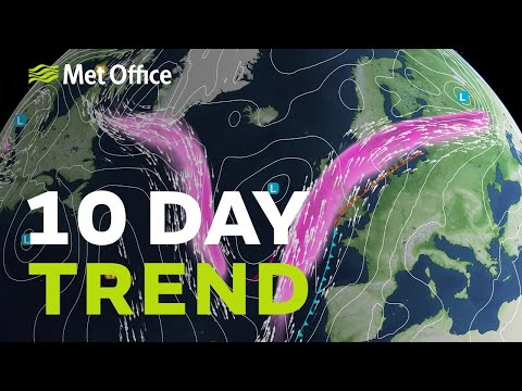 Ten Day Trend – Will The Wet And Windy Weather Continue?