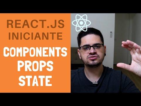 #02 - Tutorial de React.JS Iniciante - Components, Props, State thumbnail