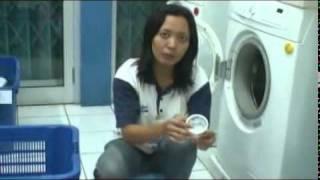 Proses Pencucian Pakaian di Laundry Kiloan