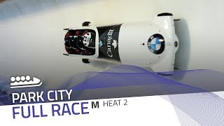 Park City | BMW IBSF World Cup 2017/2018 - 4-Man Bobsleigh Heat 2 | IBSF Official