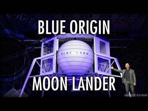 Jeff Bezos Blue Origin Announces Blue Moon Lunar Lander with Alan Boyle