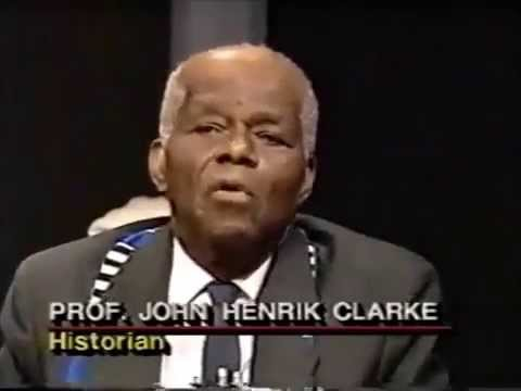Dr  John Henrik Clarke, Prof  James Smalls & Dr  Mary Hoover On 'Like It Is'