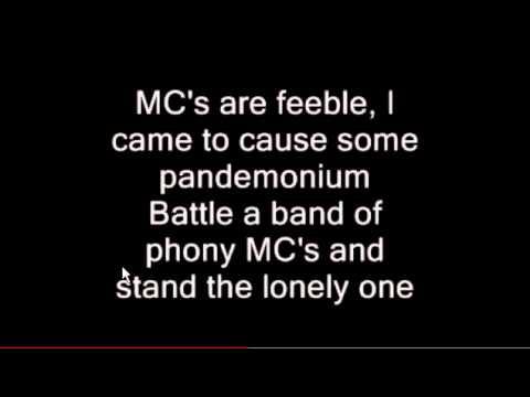 Eminem Infinite Lyrics