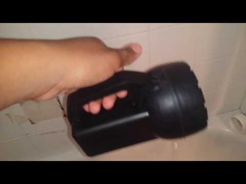 Rayovac spotlight/floodlight/flashlight