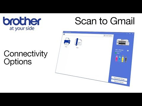 Scan To Gmail From Brother IPrint&Scan
