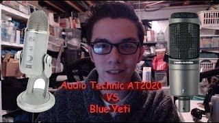 Audio Technica AT2020 vs Blue Yeti Comparison