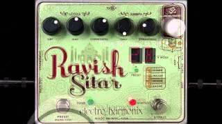electro harmonix the ravish sitar synthesizer guitar effects pedal guitar center. Black Bedroom Furniture Sets. Home Design Ideas