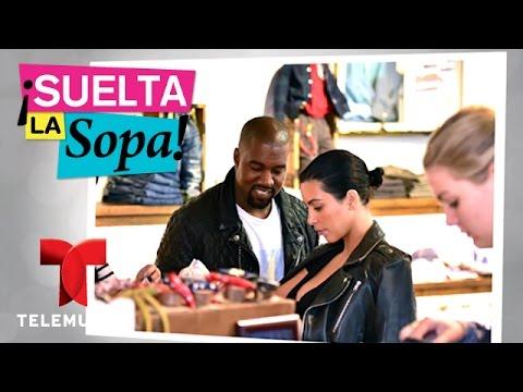 Suelta La Sopa | Kim Kardashian y Kanye West revelan el sexo de su bebé | Entretenimiento