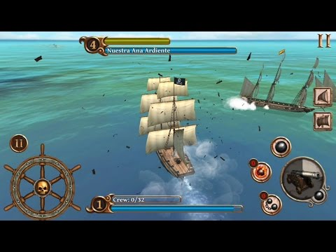 Ships of Battle Age of Pirates (by Artik Games) - strategy game for android - gameplay.