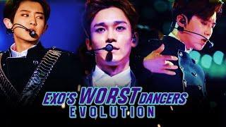 "EXO'S ""WORST"" DANCERS EVOLUTION"