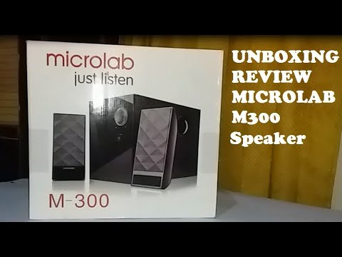 Unboxing and review Microlab M300 Best value multimedia speaker #microlab #Speaker #unboxing