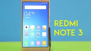 Xiaomi Redmi Note 3 Video Review