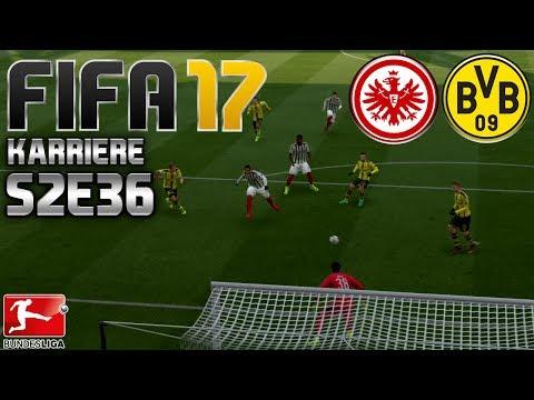 FIFA 17 KARRIERE ⚽️ S02E36 • 22. SPIELTAG: E. Frankfurt vs. Borussia Dortmund