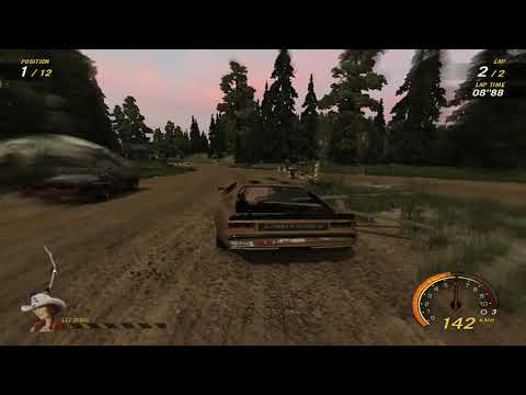 flatout 3 : race 29 with my car of splitter