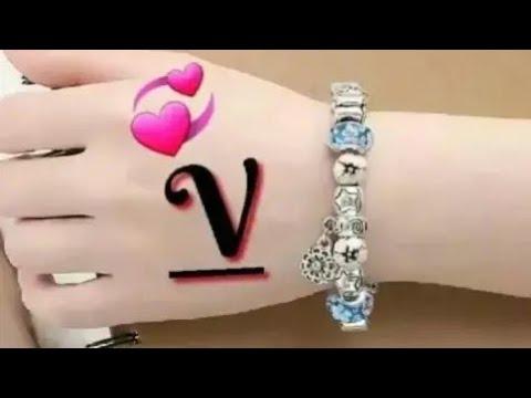 V Letter Whatsapp Status V Name Status Video Youtube